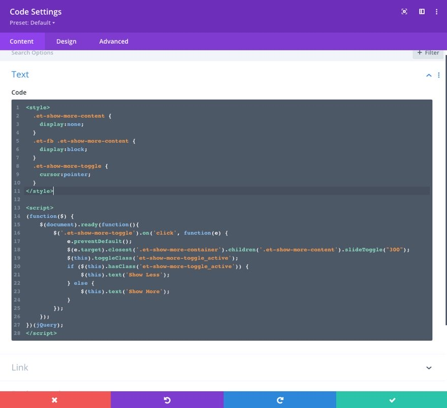 2-ways-to-create-custom-show-more-toggles-in-divi-19 2 Ways to Create Custom Show More Toggles in Divi