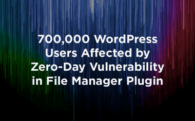 700,000 WordPress Users Affected by Zero-Day Vulnerability in File Manager Plugin