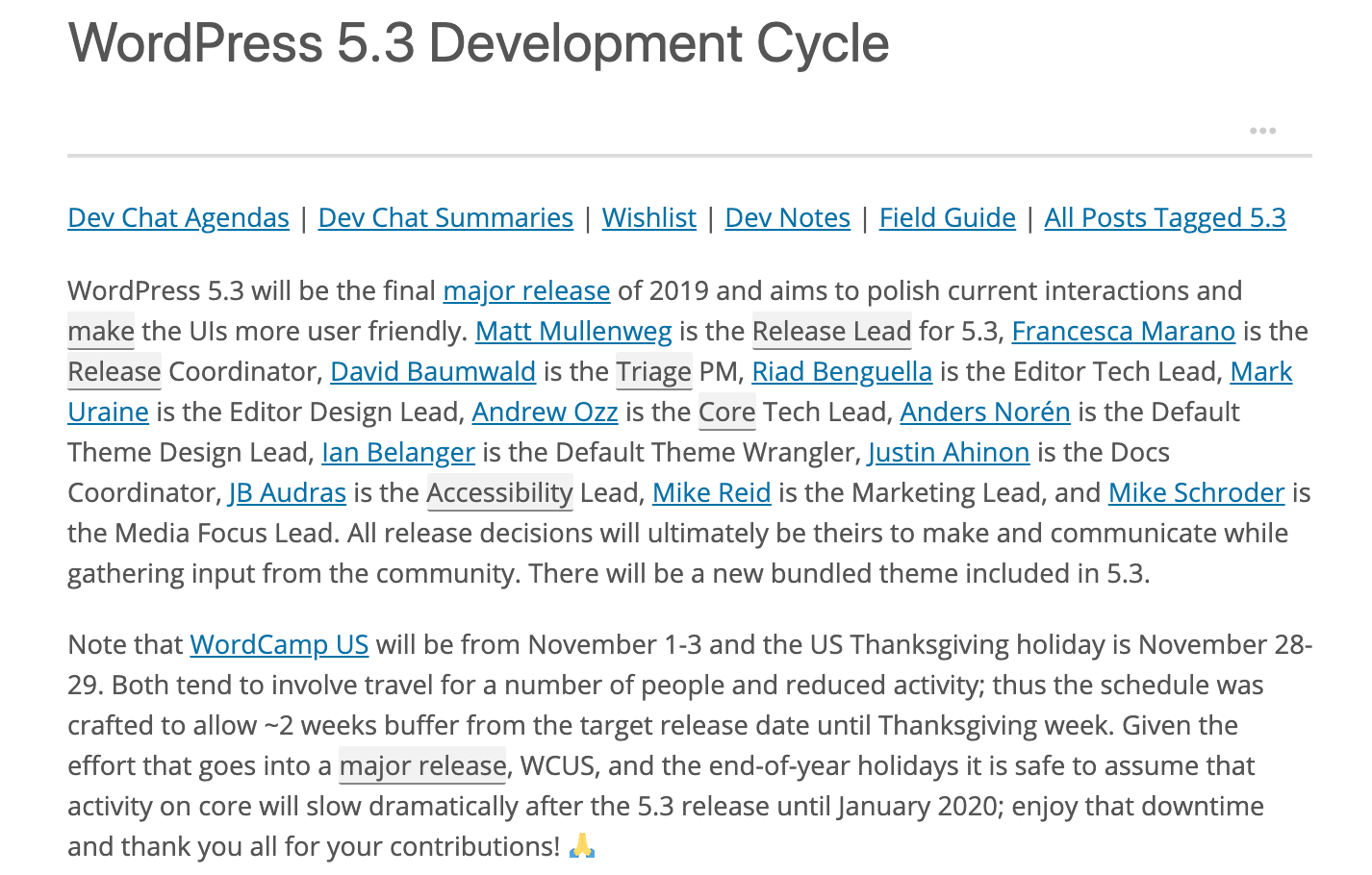 a-non-technical-release-leads-journey-to-becoming-a-mentor-for-wordpress-core-development A Non-Technical Release Lead's Journey to Becoming a Mentor for WordPress Core Development