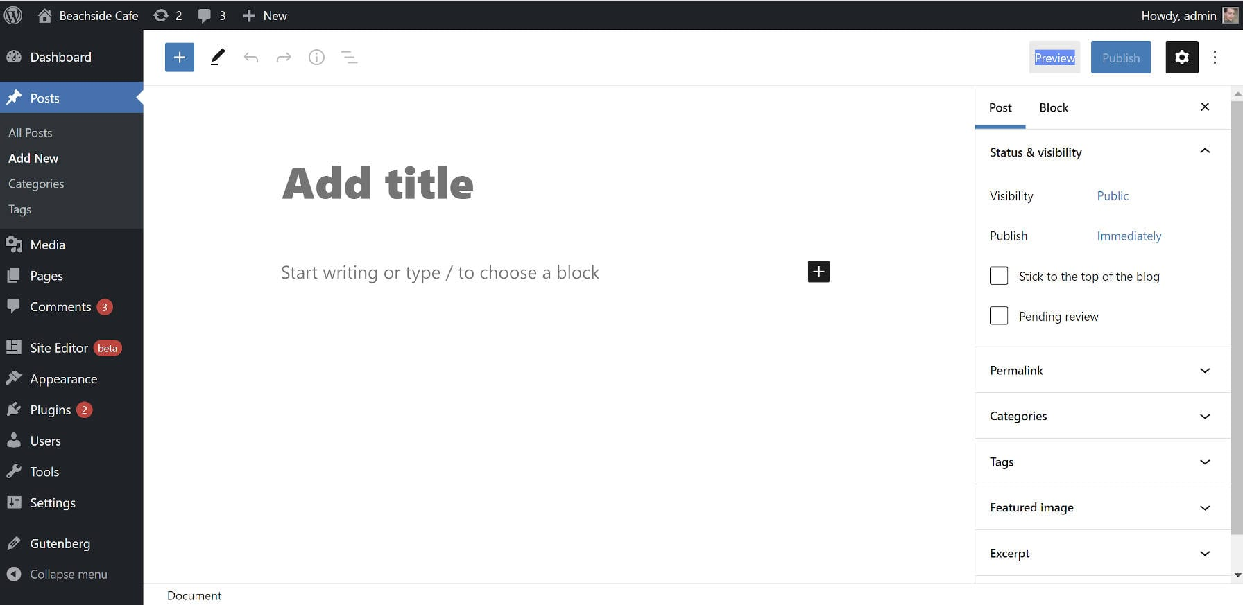 disable-the-wordpress-block-editors-fullscreen-mode-with-a-plugin Disable the WordPress Block Editor's Fullscreen Mode With a Plugin
