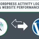 Does the WordPress activity log affect the performance of my website?