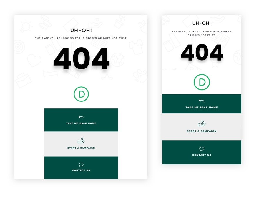 download-a-free-404-page-template-for-divis-crowdfunding-layout-pack-1 Download a FREE 404 Page Template for Divi's Crowdfunding Layout Pack