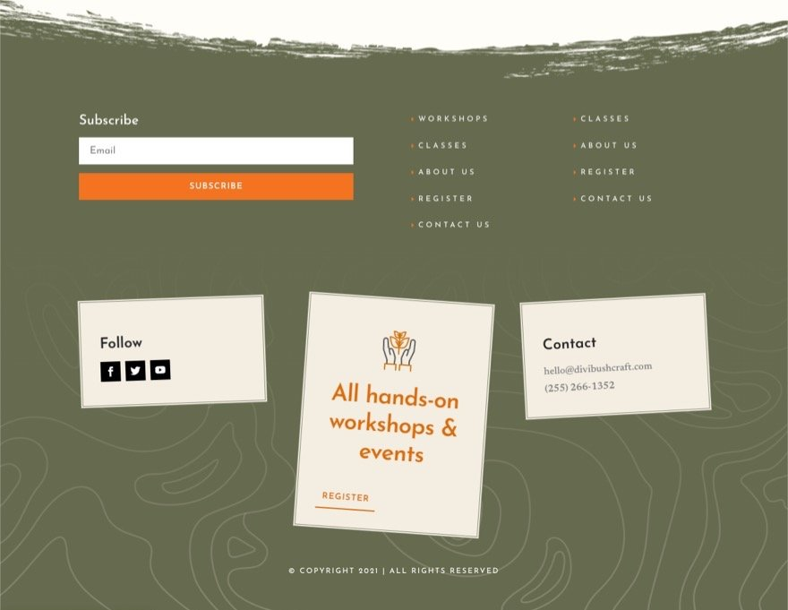 download-a-free-header-and-footer-template-for-divis-bushcraft-layout-pack-2 Download a FREE Header and Footer Template for Divi's Bushcraft Layout Pack