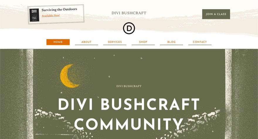 download-a-free-header-and-footer-template-for-divis-bushcraft-layout-pack Download a FREE Header and Footer Template for Divi's Bushcraft Layout Pack