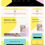 Download a FREE Header & Footer for Divi's Homemade Cookies Layout Pack