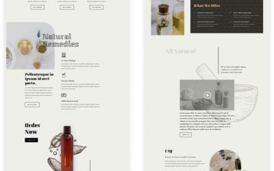 Get a FREE Apothecary Layout Pack for Divi