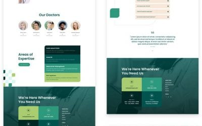 Get a FREE Family Doctor Layout Pack for Divi