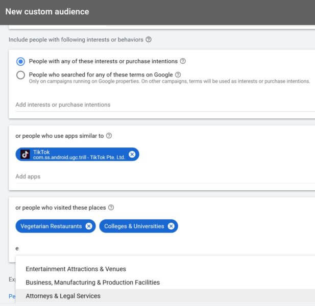 google-custom-audiences-the-combo-of-custom-affinity-and-custom-intent-audiences-now-live Google custom audiences, the combo of custom affinity and custom intent audiences, now live