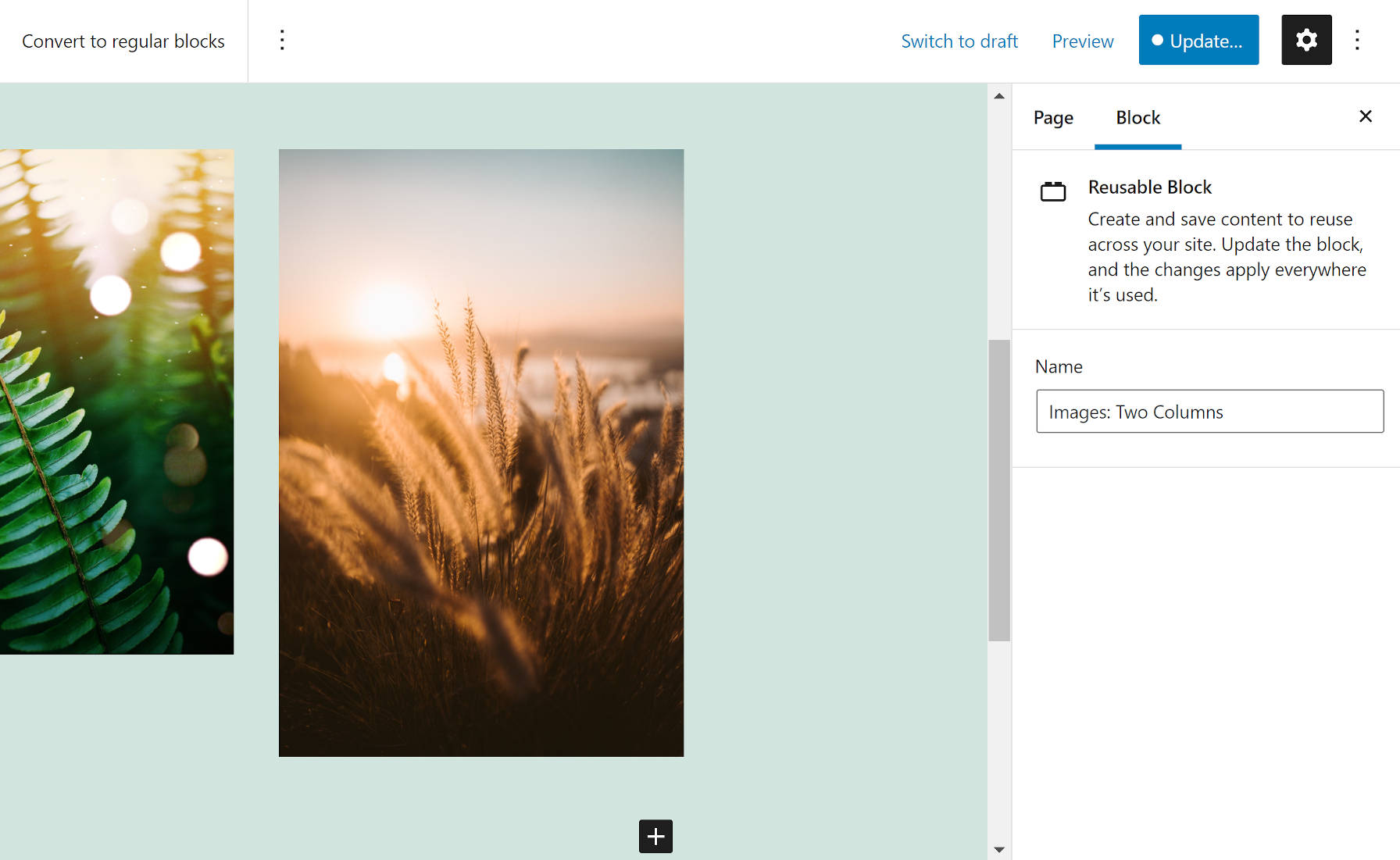 gutenberg-9-7-improves-user-experience-updates-reusable-blocks-and-brings-page-templates-to-fse-themes-1 Gutenberg 9.7 Improves User Experience, Updates Reusable Blocks, and Brings Page Templates to FSE Themes