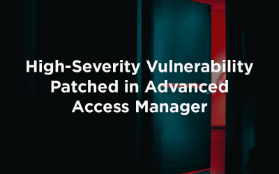High-Severity Vulnerability Patched in Advanced Access Manager