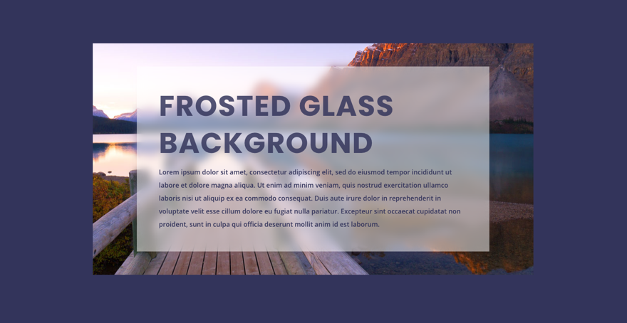how-to-create-a-frosted-glass-background-design-in-divi How to Create a Frosted Glass Background Design in Divi