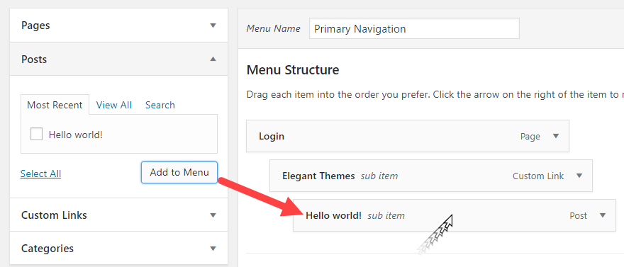 how-to-create-and-edit-menu-navigation-in-wordpress-7 How to Create and Edit Menu Navigation in WordPress