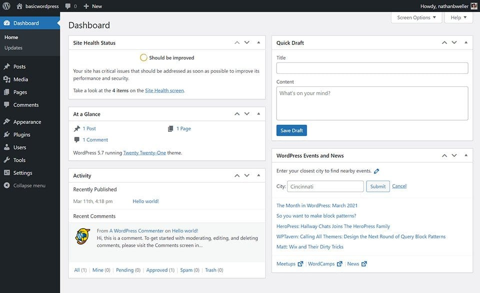 how-to-find-and-edit-the-wordpress-user-profile How to Find and Edit the WordPress User Profile