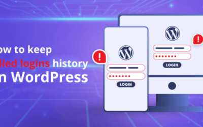 How to record a history of failed login attempts on WordPress?