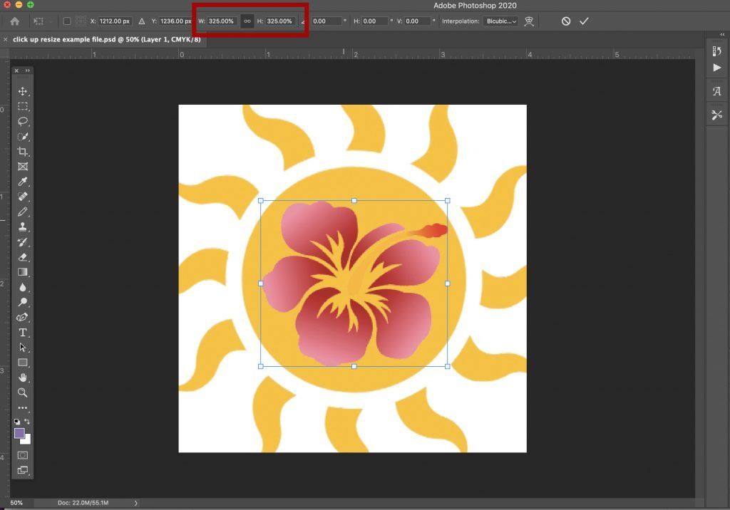 how-to-scale-transform-and-resize-an-object-in-photoshop-11 How to Scale, Transform, and Resize an Object in Photoshop