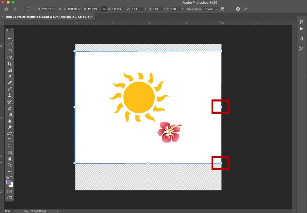 how-to-scale-transform-and-resize-an-object-in-photoshop-3 How to Scale, Transform, and Resize an Object in Photoshop