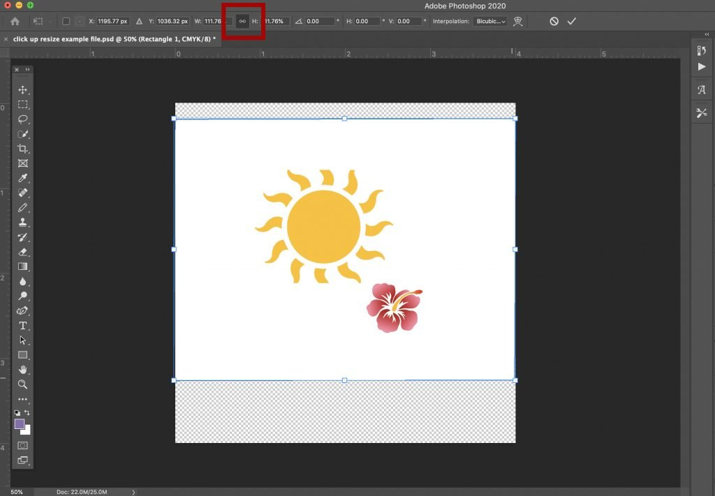 how-to-scale-transform-and-resize-an-object-in-photoshop-4 How to Scale, Transform, and Resize an Object in Photoshop