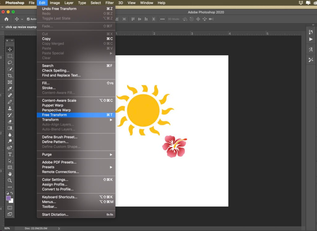 how-to-scale-transform-and-resize-an-object-in-photoshop-7 How to Scale, Transform, and Resize an Object in Photoshop