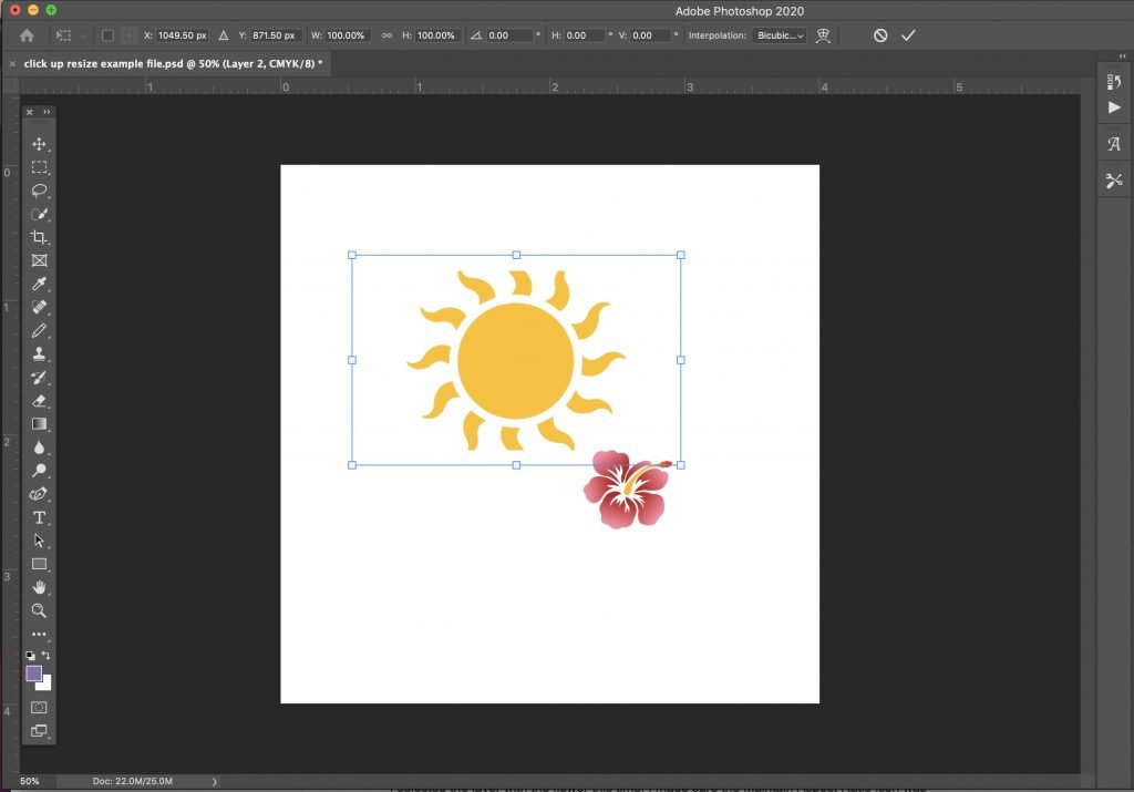 how-to-scale-transform-and-resize-an-object-in-photoshop-8 How to Scale, Transform, and Resize an Object in Photoshop
