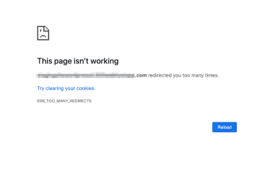 """How to Troubleshoot """"err_too_many_redirects"""" on Your WordPress Website"""