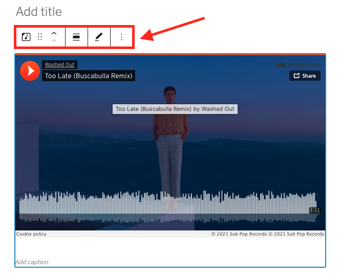 how-to-use-the-soundcloud-embed-block-10 如何使用 SoundCloud 嵌入块