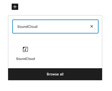 how-to-use-the-soundcloud-embed-block-2 如何使用 SoundCloud 嵌入块