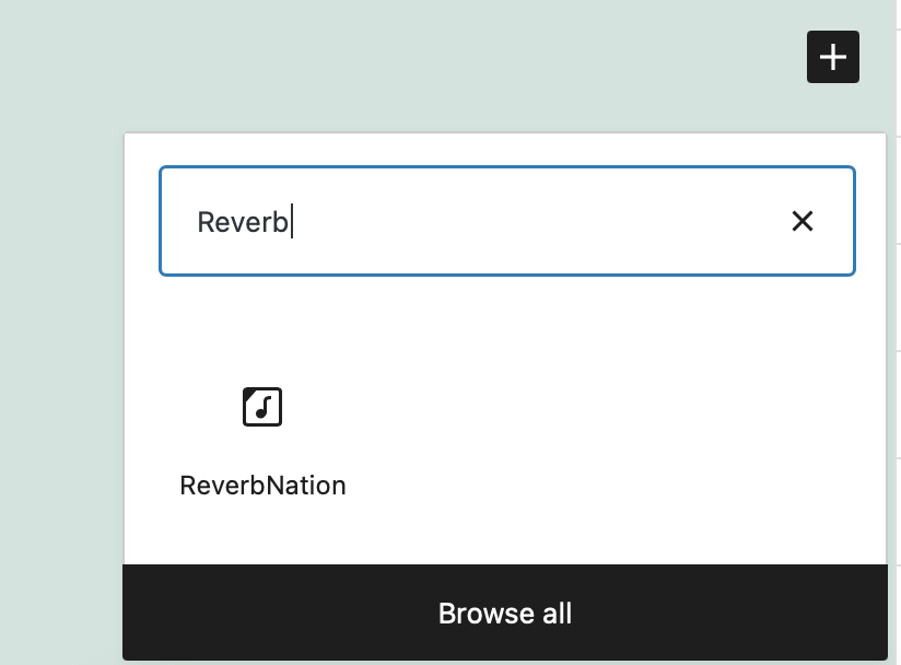 how-to-use-the-wordpress-reverbnation-embed-block-1 How to Use the WordPress ReverbNation Embed Block