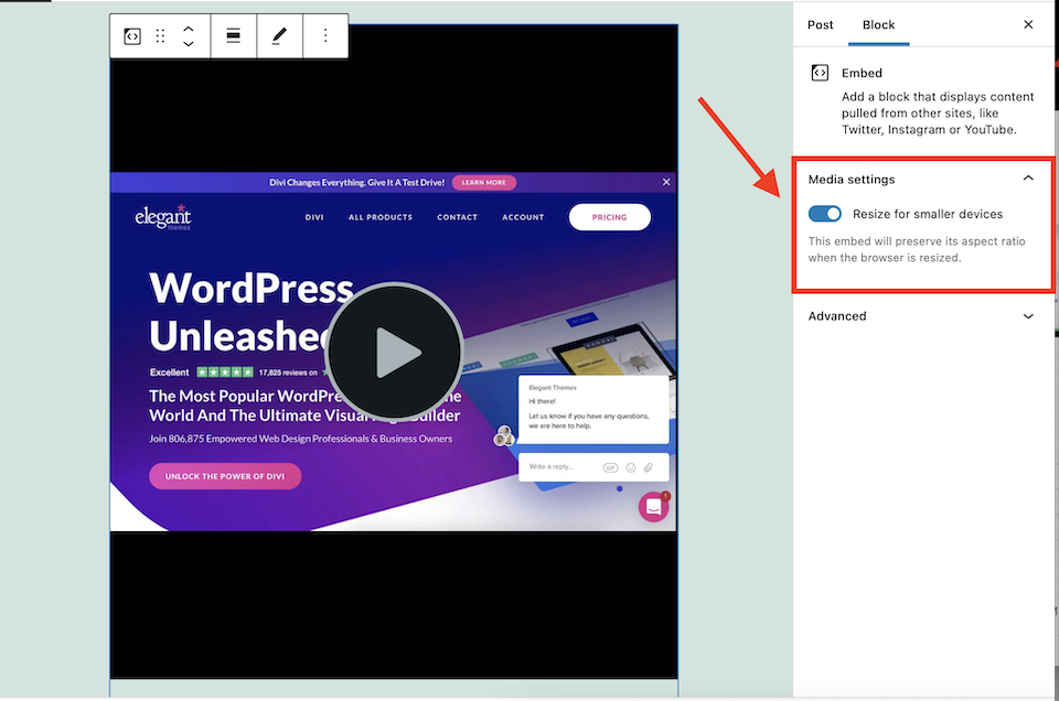 how-to-use-the-wordpress-screencast-embed-block-10 How to Use the WordPress Screencast Embed Block