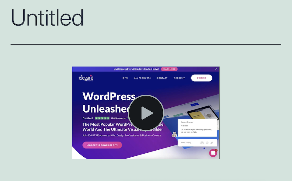 how-to-use-the-wordpress-screencast-embed-block-5 How to Use the WordPress Screencast Embed Block