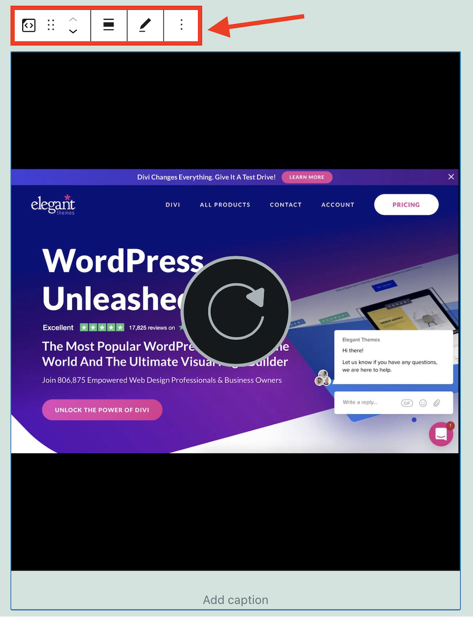how-to-use-the-wordpress-screencast-embed-block-7 How to Use the WordPress Screencast Embed Block