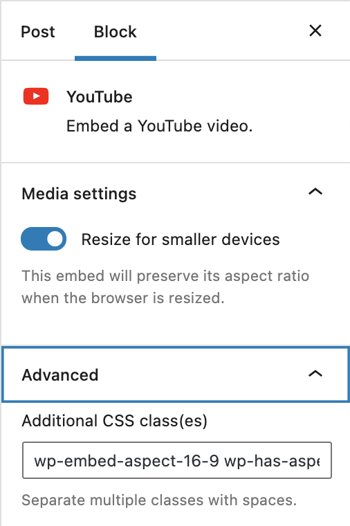 how-to-use-the-wordpress-youtube-embed-block-11 How to Use the WordPress YouTube Embed Block