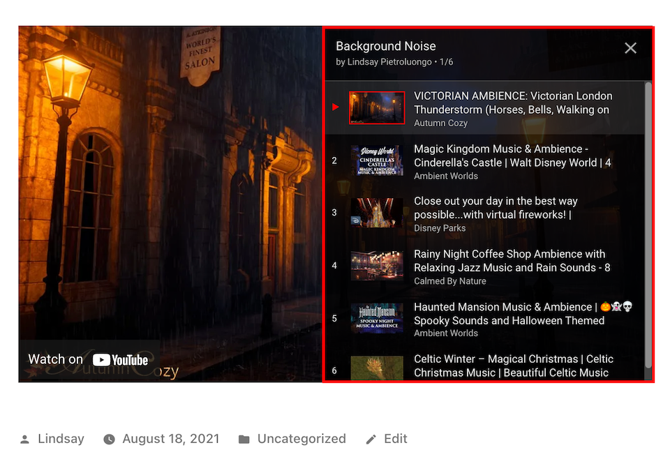 how-to-use-the-wordpress-youtube-embed-block-7 How to Use the WordPress YouTube Embed Block