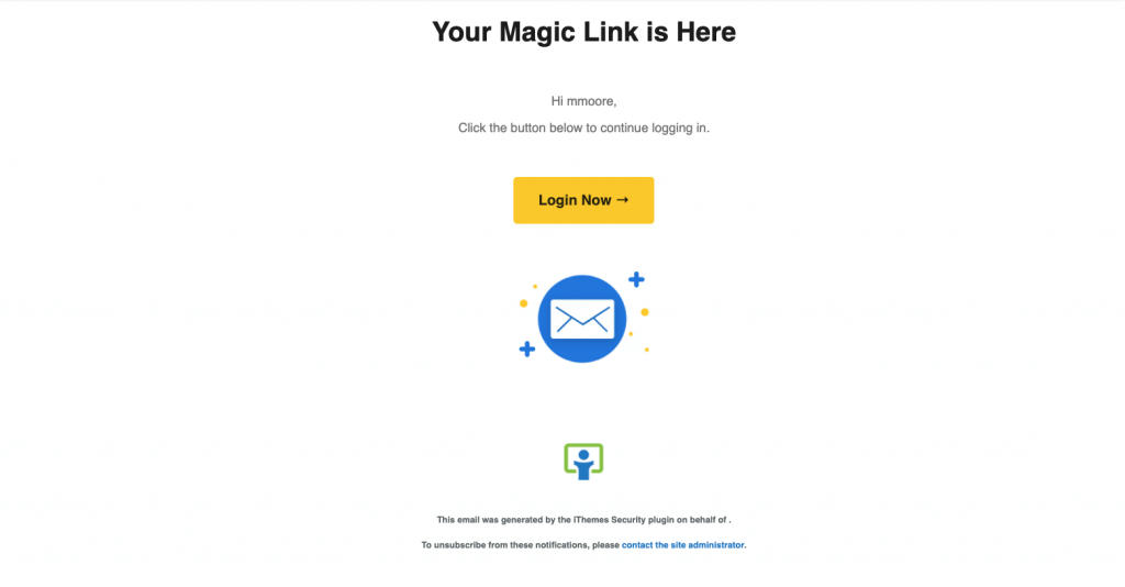 ithemes-security-pro-feature-spotlight-magic-links-passwordless-login-7 iThemes Security Pro Feature Spotlight: Magic Links & Passwordless Login