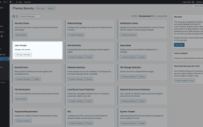 iThemes Security Pro Feature Spotlight: User Groups