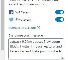 Jetpack 9.0 Introduces Loom Block, Twitter Threads Feature, and Facebook and Instagram oEmbeds