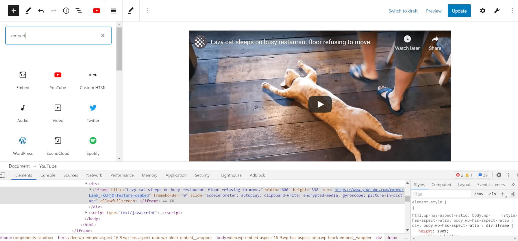 native-lazy-loading-support-for-iframes-coming-to-wordpress-5-7 Native Lazy Loading Support for iframes Coming To WordPress 5.7
