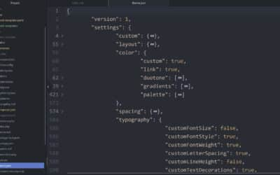 Open Survey for WordPress Theme Authors on JSON Files and Block Themes