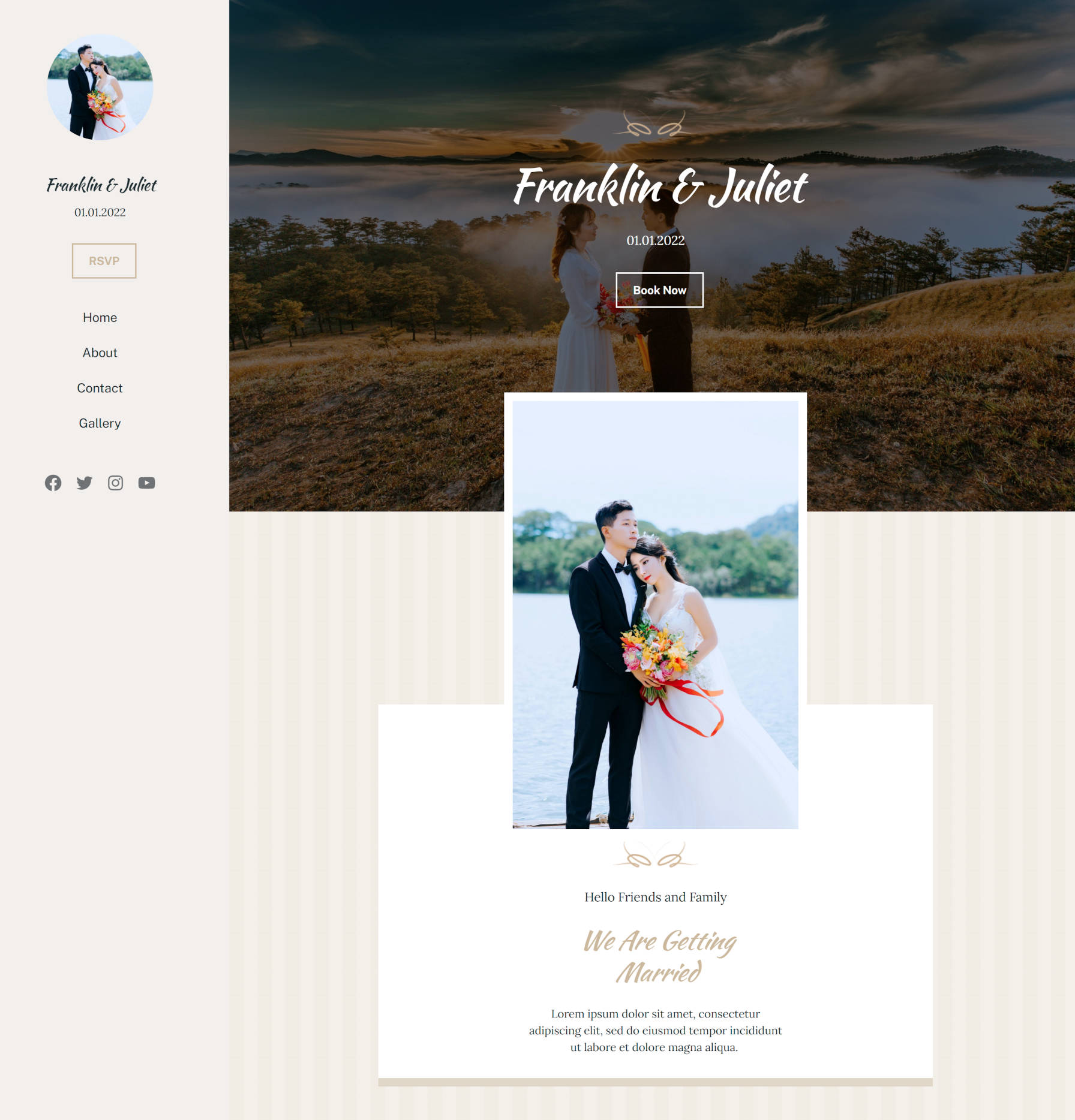 recreating-the-classic-wedding-wordpress-theme-homepage-with-the-block-editor-2 Recreating the Classic Wedding WordPress Theme Homepage With the Block Editor