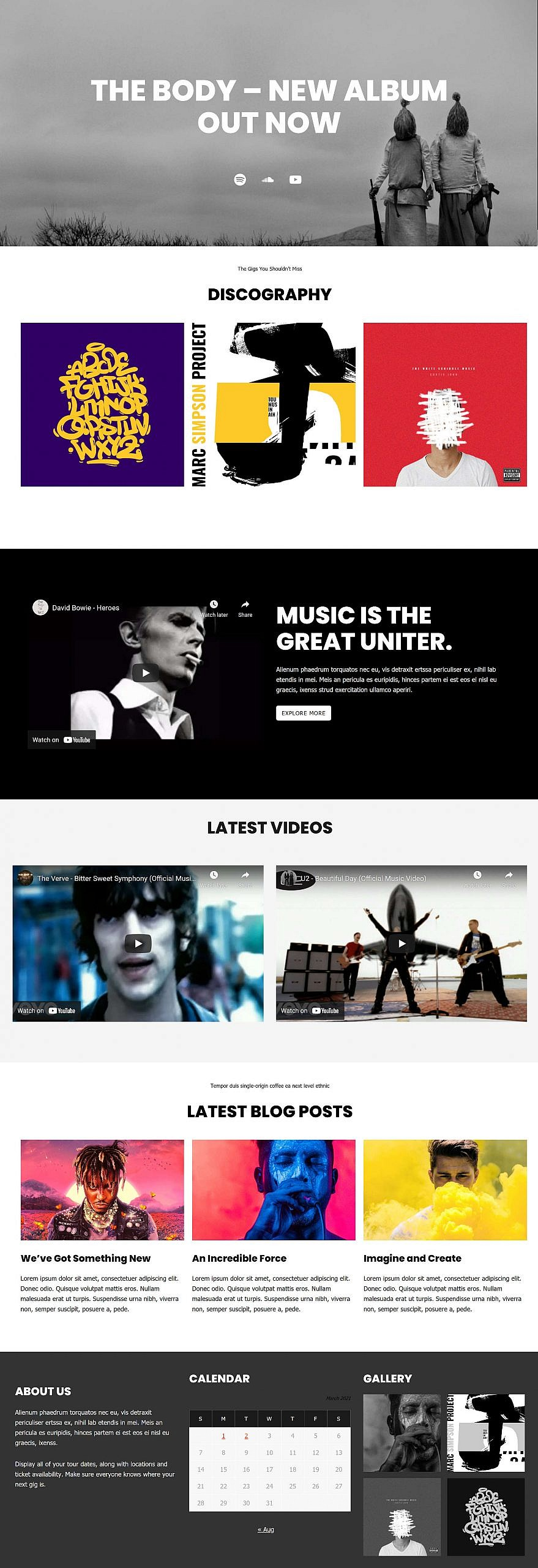 recreating-the-music-artist-wordpress-theme-homepage-with-the-block-editor-1 Recreating the Music Artist WordPress Theme Homepage With the Block Editor