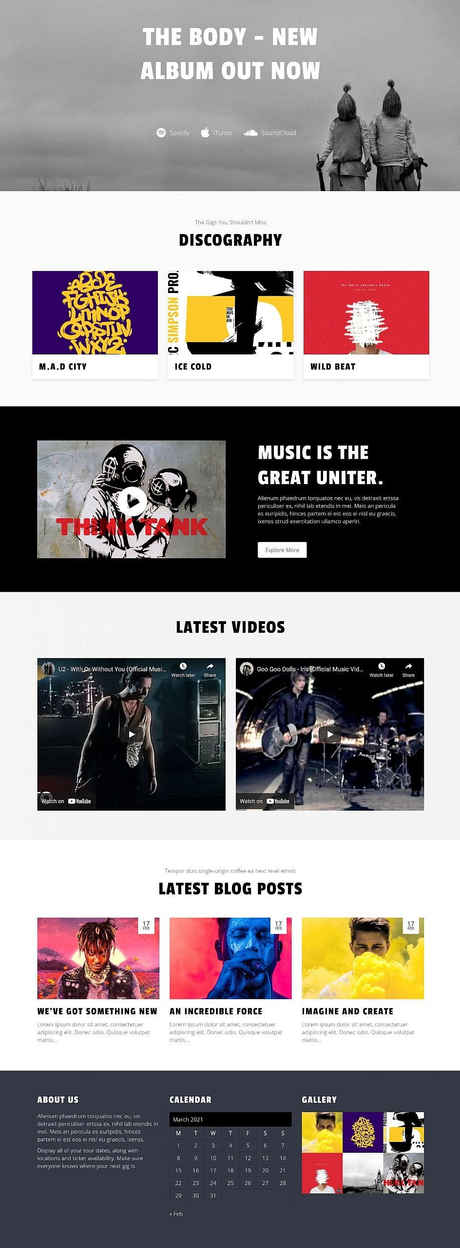 recreating-the-music-artist-wordpress-theme-homepage-with-the-block-editor Recreating the Music Artist WordPress Theme Homepage With the Block Editor