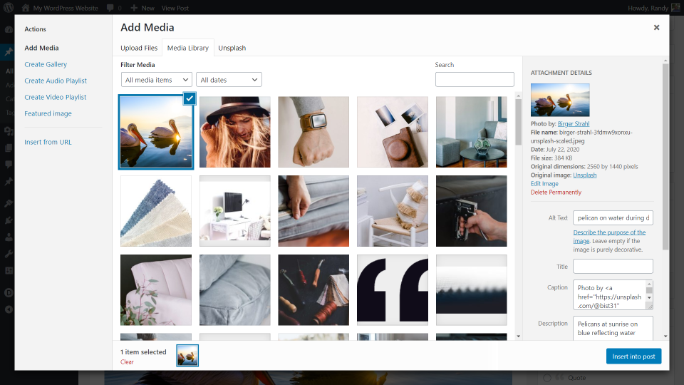 unsplash-wordpress-plugin-overview-and-review-11 Unsplash WordPress Plugin Overview and Review