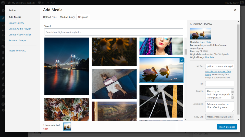 unsplash-wordpress-plugin-overview-and-review-8 Unsplash WordPress Plugin Overview and Review