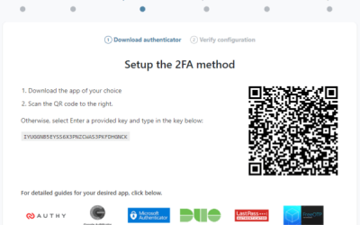 WP 2FA 1.4: Support for Authy, FreeOTP, and other 2FA apps
